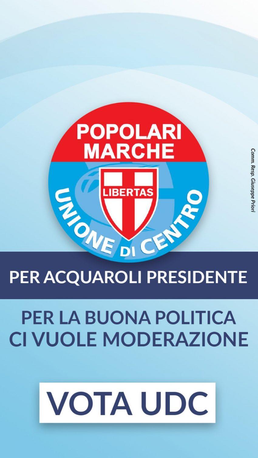 vota UDC alle prossime elezioni Regionali e scrivi Delvecchio